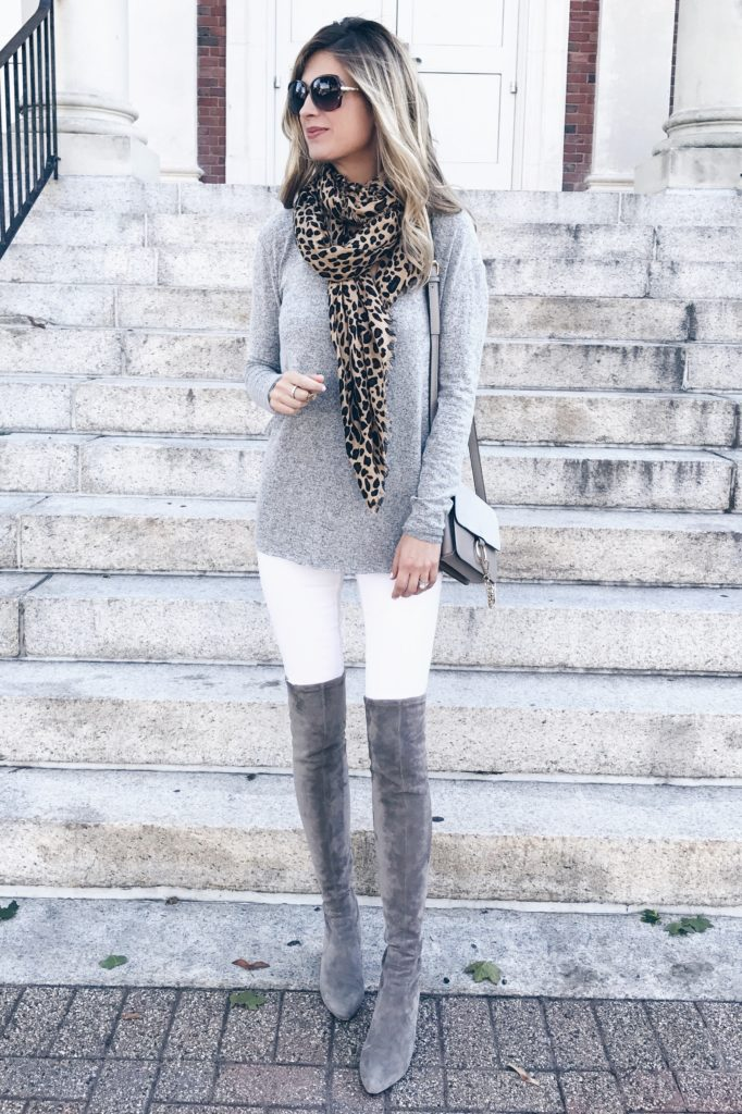 MUST HAVE fall sweaters 2017 - softest gray tunic