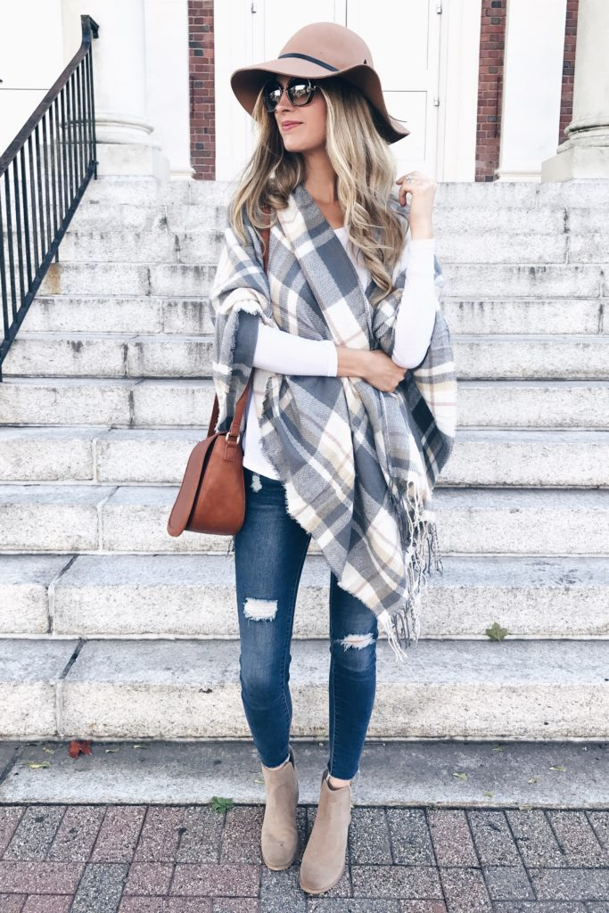 PIN THIS!!! affordable Fall poncho 2017