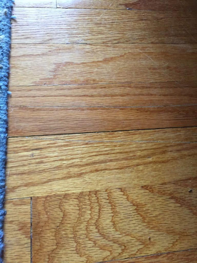 home hack: fix hardwood floor scratches