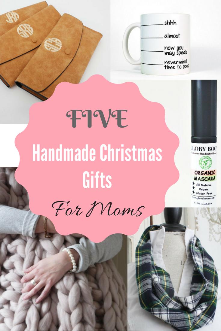 Christmas Gift For Mom.Friday Five Handmade Christmas Gifts For Mom Pinteresting