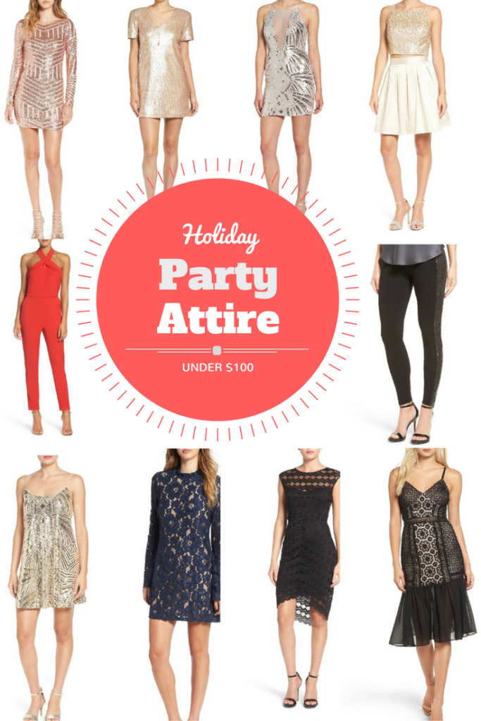 holiday party dresses under 100
