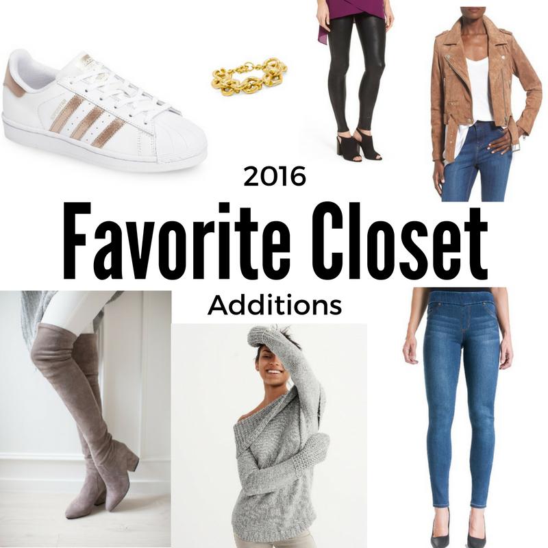 2016 favorite wardrobe additions