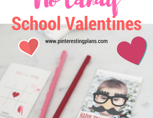 ideas for candy free school valentines