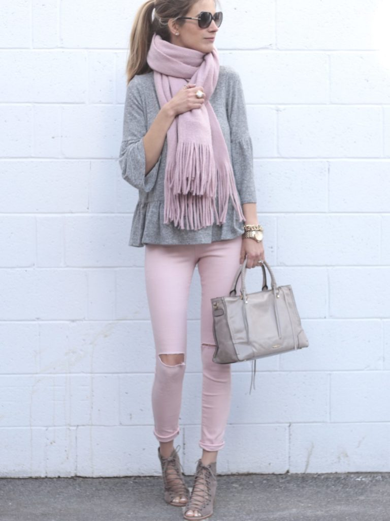 Connecticut life and style blogger, Pinteresting Plans shares 9 pink spring outfits and how to style them. You can check out those and more!