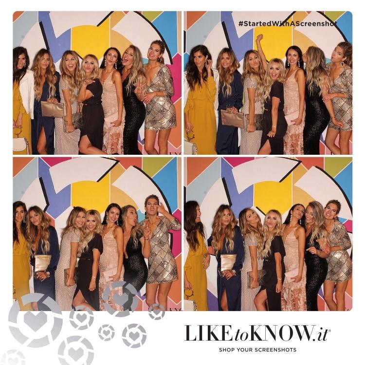 rewardstyle conference 2017 recap - finale party Photo Booth
