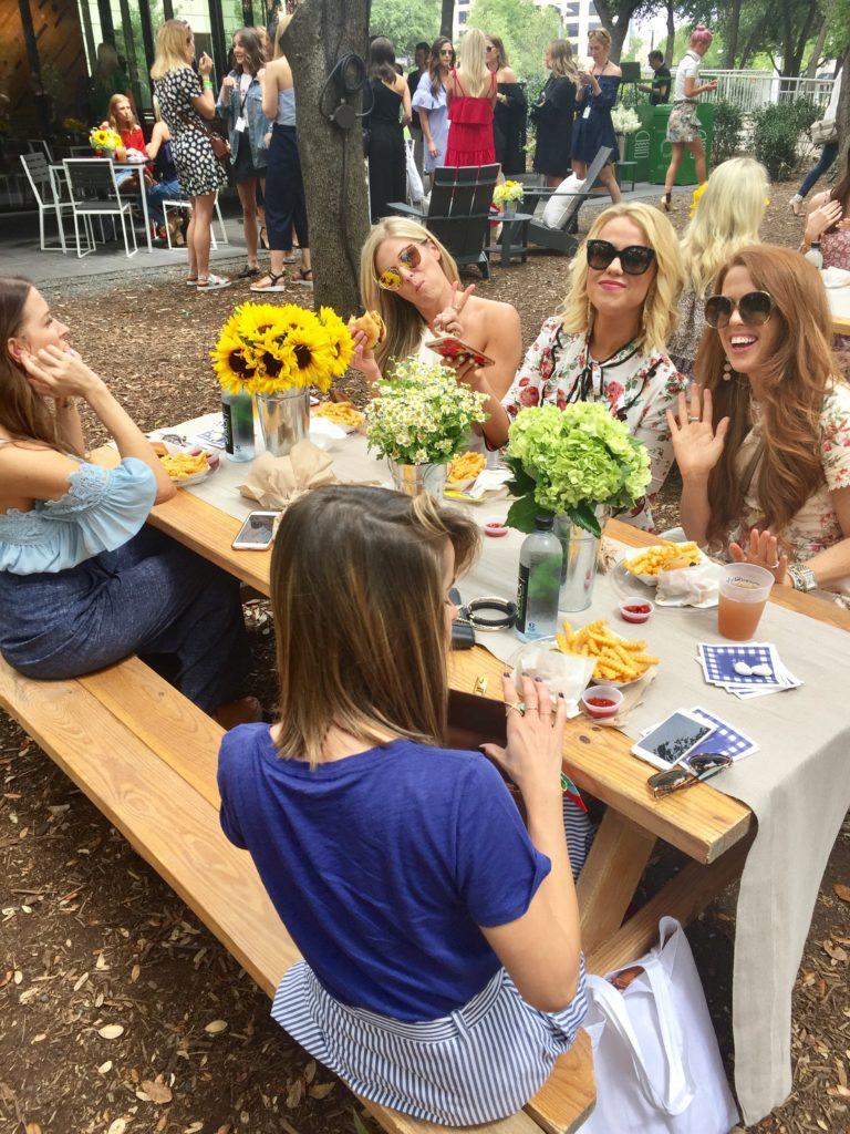 rewardstyle conference 2017 recap picnic lunch