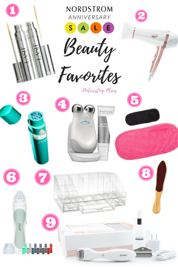 Nordstrom Anniversary Sale Beauty Favorites 2017