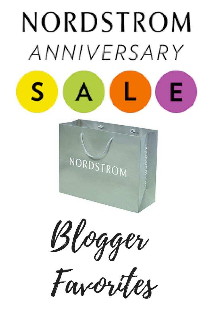 nordstrom anniversary sale blogger favorites post