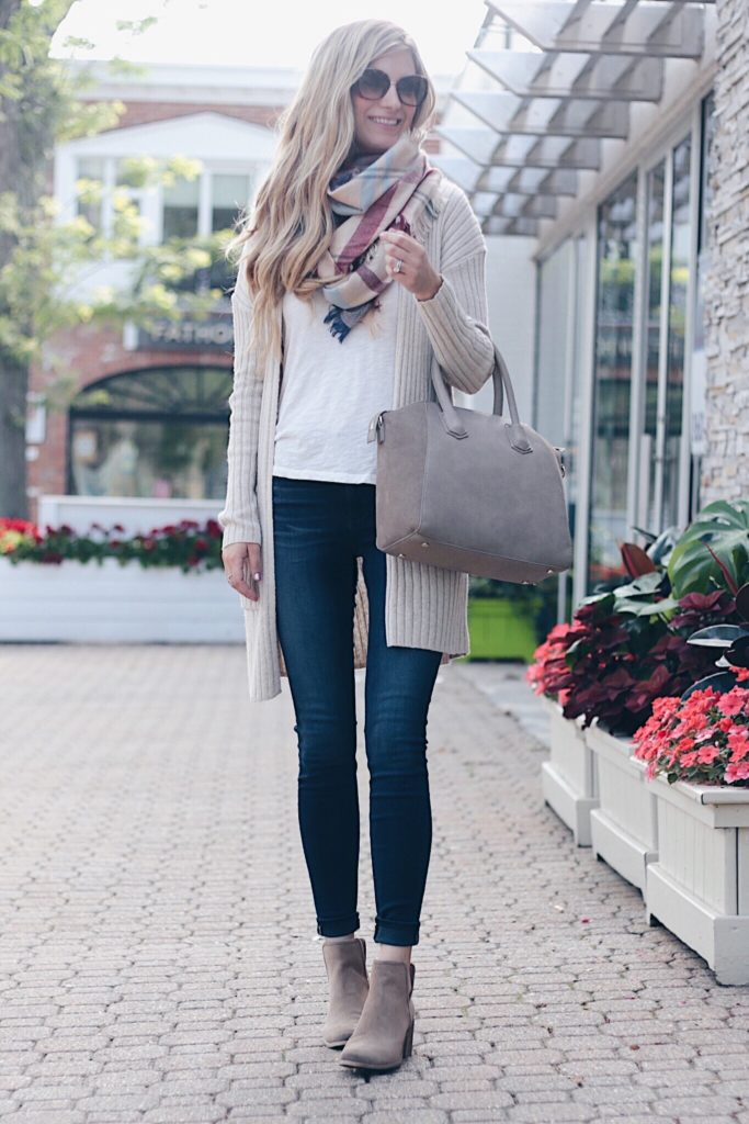 nordstrom-anniversary-sale-cardigan-outfit-with-skinny-jeans-and-booties-on-pinterestingplans