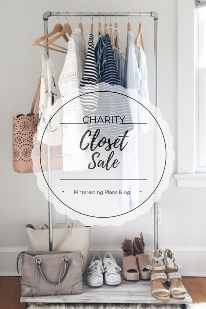 Clothing for a Cause - Charity Closet Sale - Pinteresting Plans Blog