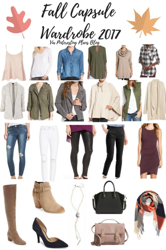 Fall Capsule Wardrobe 2017
