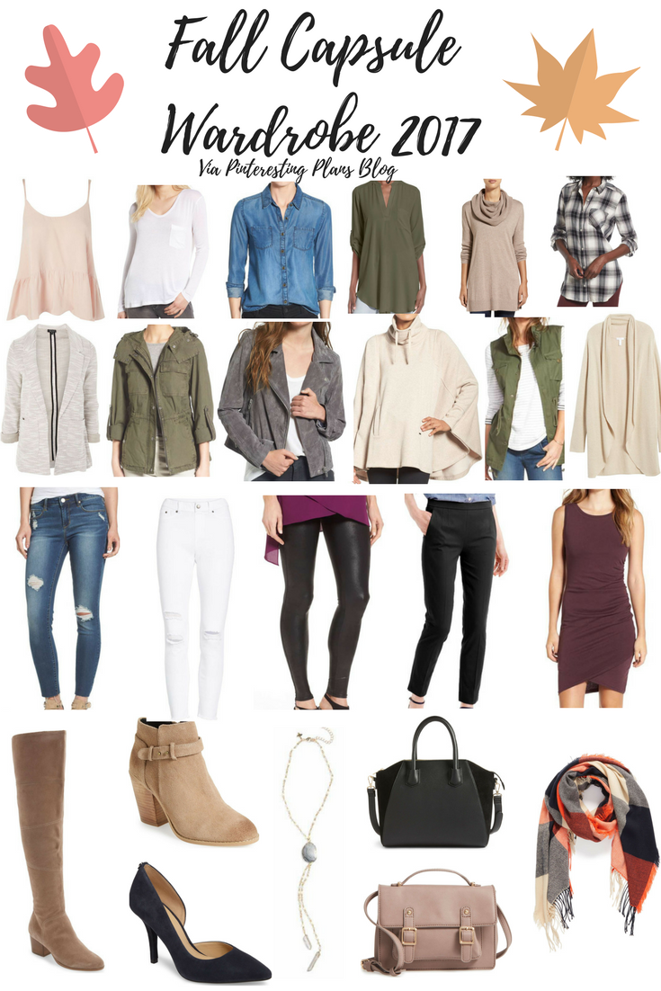 Fall capsule wardrobe 2017 from nordstrom pinteresting plans What is style