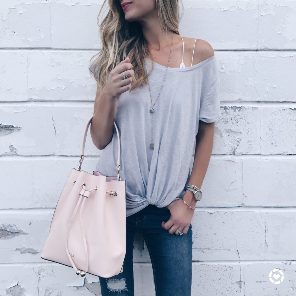 august instagram round-up - knotted tee on pinterestingplans