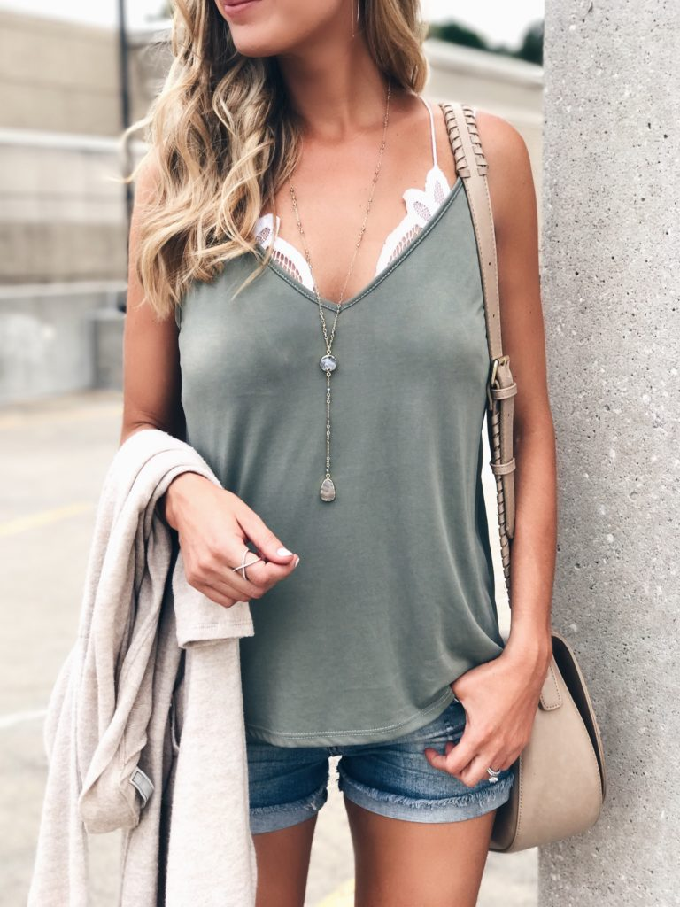 august-instagram-round-up-olive-green-cami-over-white-lace-bralette-on-pinterestingplans