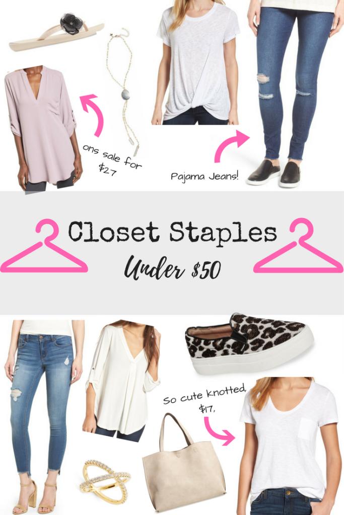 closet staples under $50