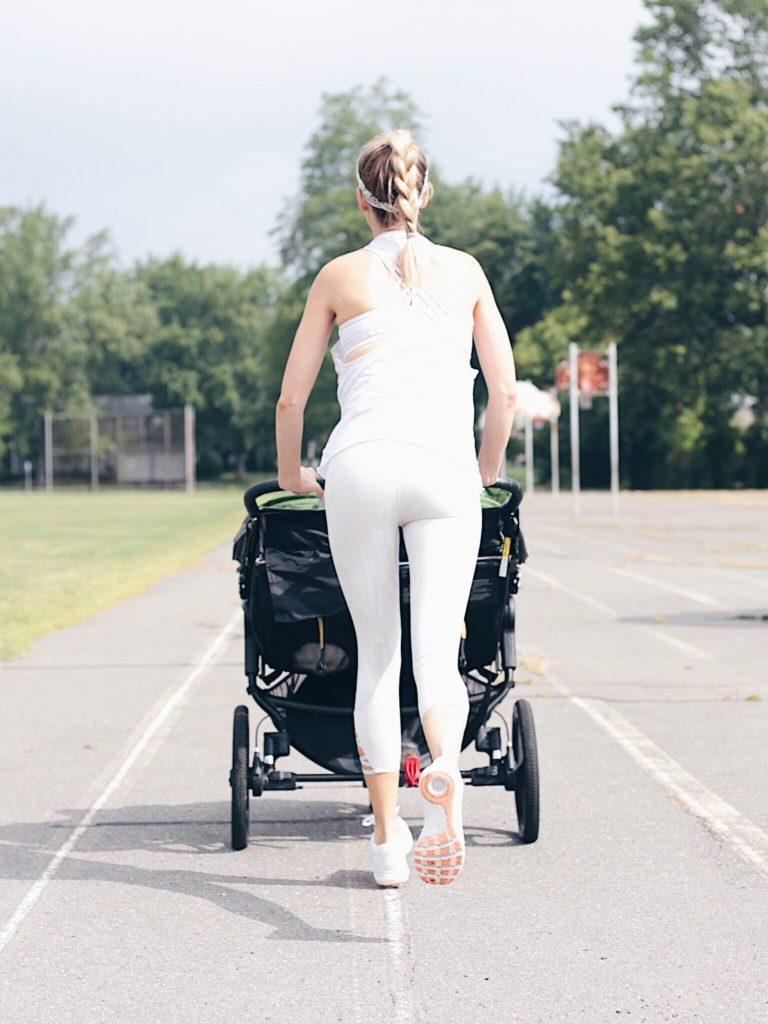 stroller workout - double jog stroller on pinterestingplans