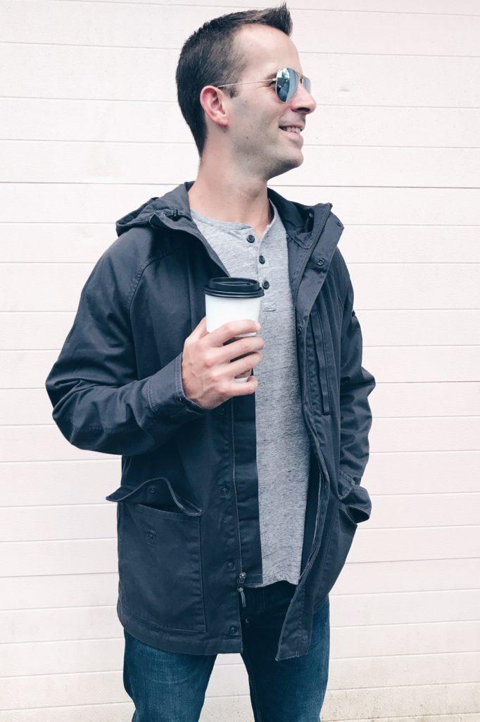 heroin addict to instagram husband - celebrating sobriety and sharing Fall men's wardrobe basics