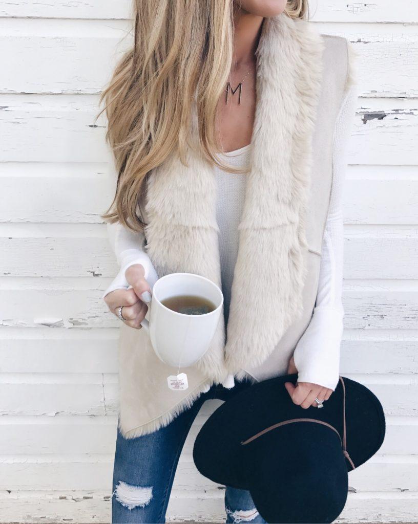 MUST HAVE reversible Fall Faux Fur Vest ON SALE