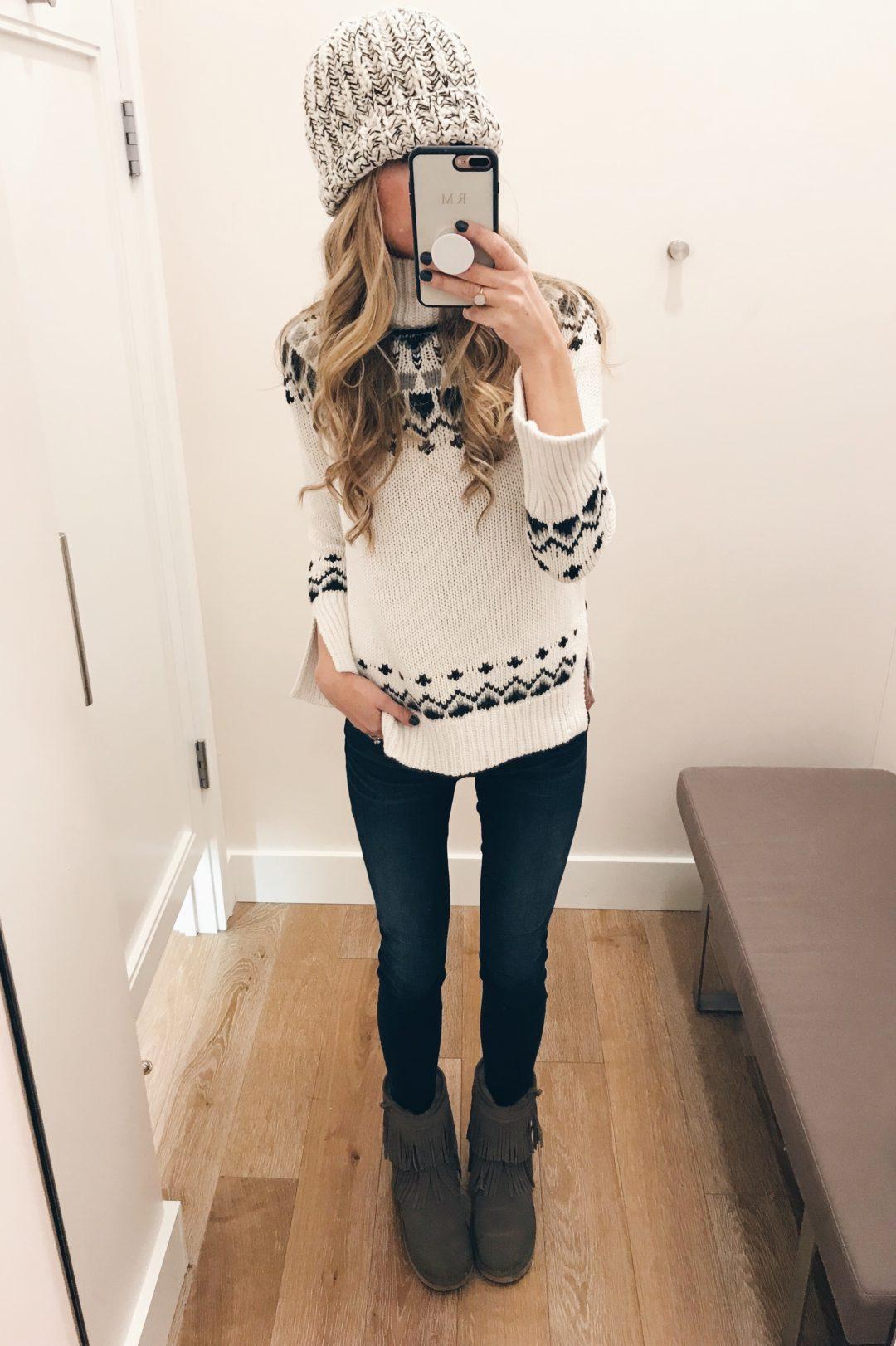 Cyber Week 2017 sweaters on sale - ski weekend sweater