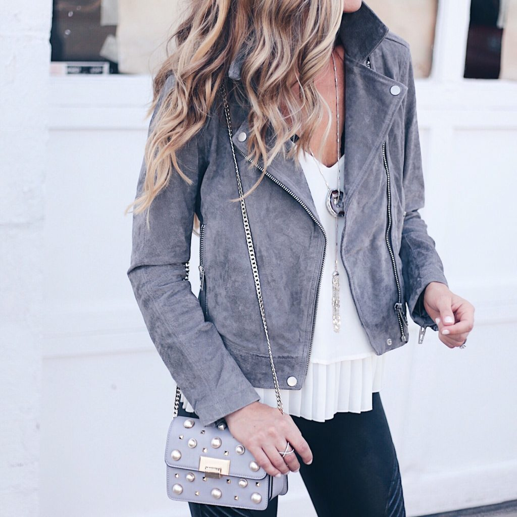 The Best Suede Moto Jacket - Must Have Colors