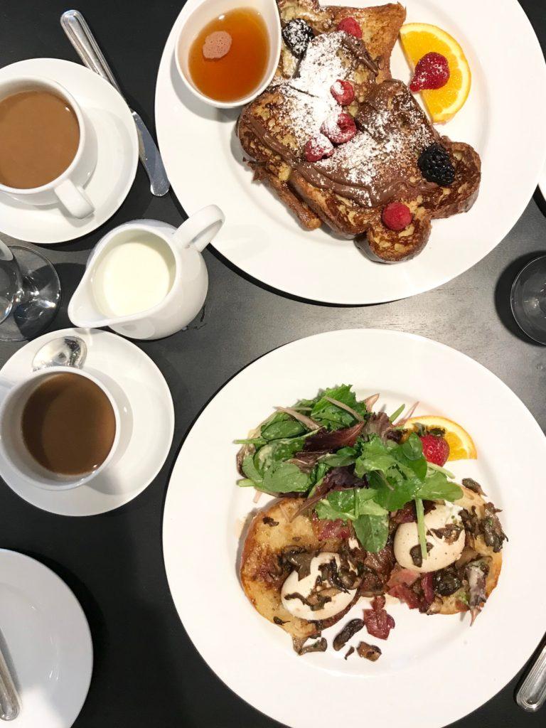 delamar hotel review - artisan restaurant brunch