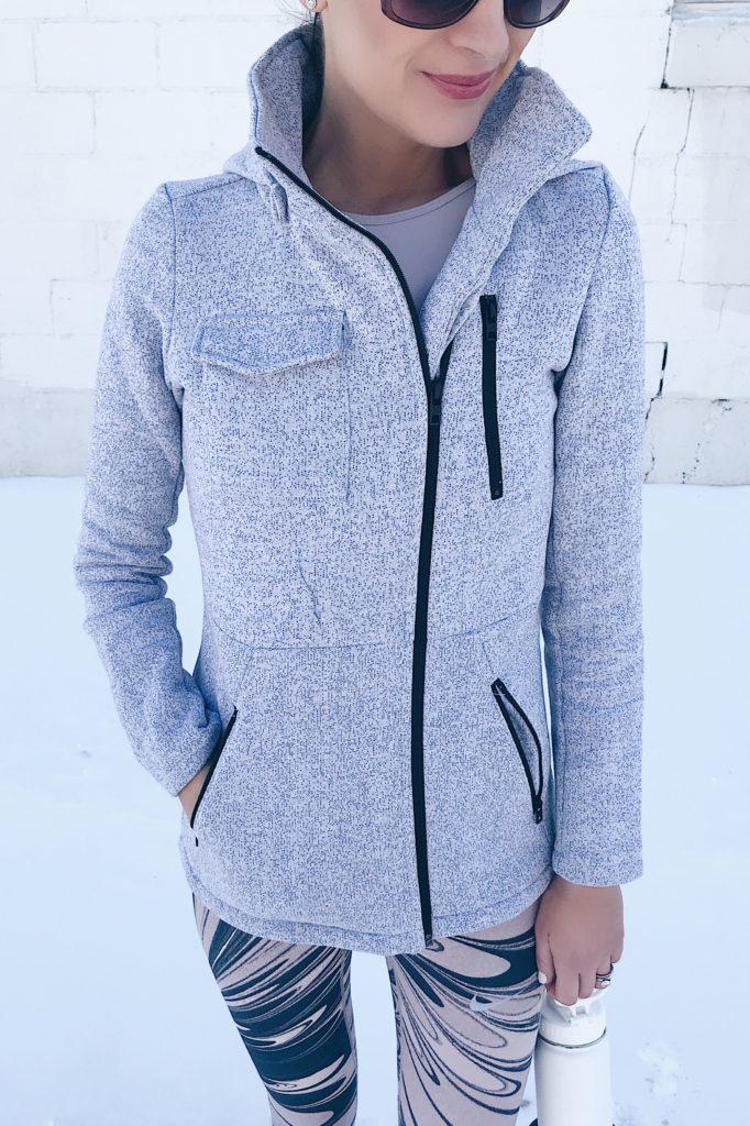 resolutions for a 30 something - sweatshirt jacket on pinterestingplans blog - CT lifestyle blogger