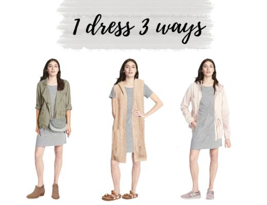 one dress three ways pinteresting plans
