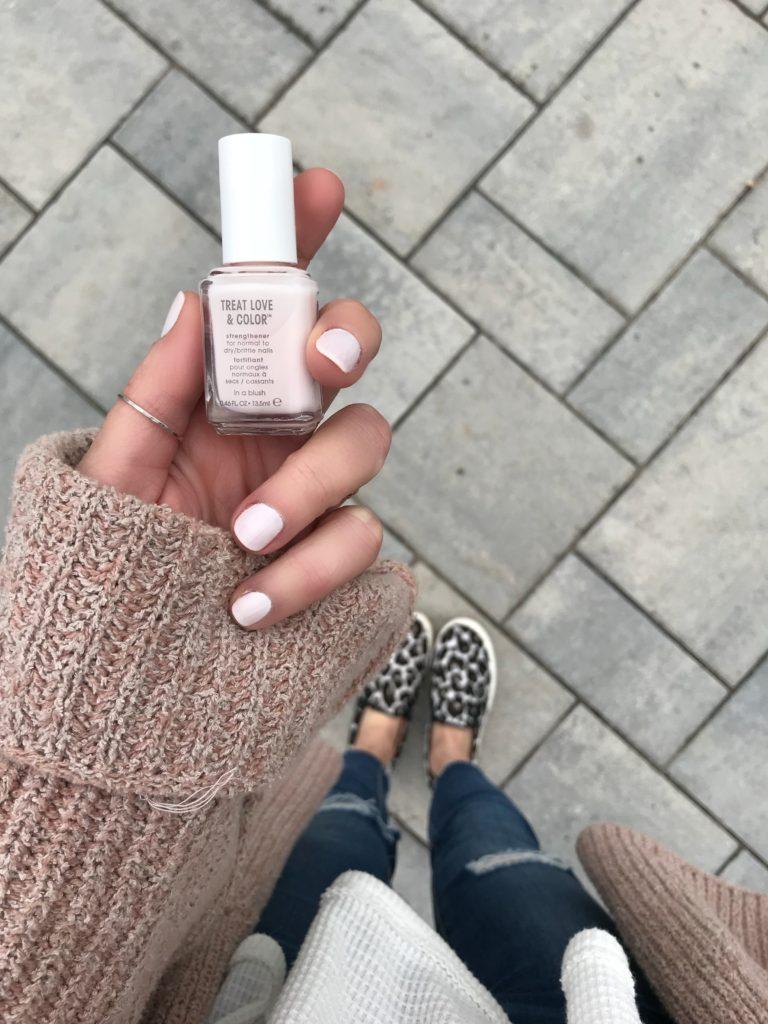 Pinteresting Plans Blog sharing favorite Spring Nail Polish Shades 2018 with essie