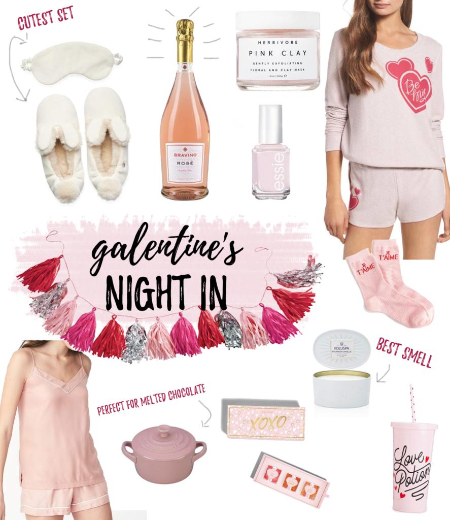 galentine's day girls' night in ideas