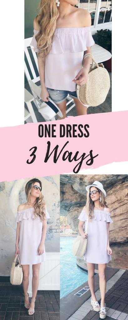 tips for packing light - restyle your favorite sundress on pinteresting plans blog