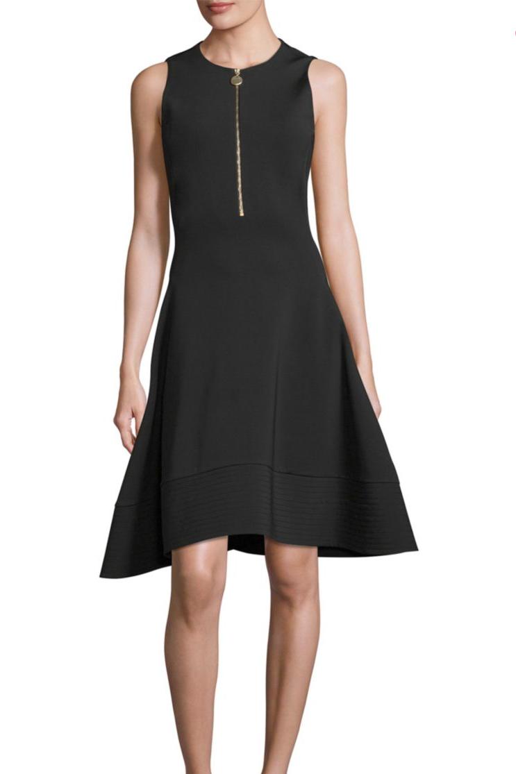 Saks off 5th designer preview event - little black dress