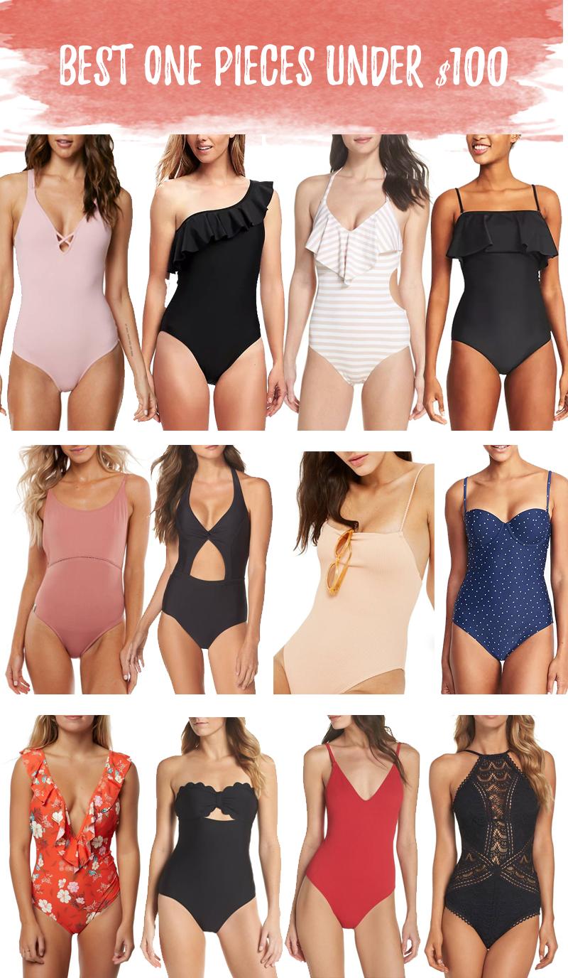best one piece bathing suits under $100