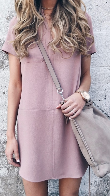 casual spring dress on pinteresting plans fashion blog