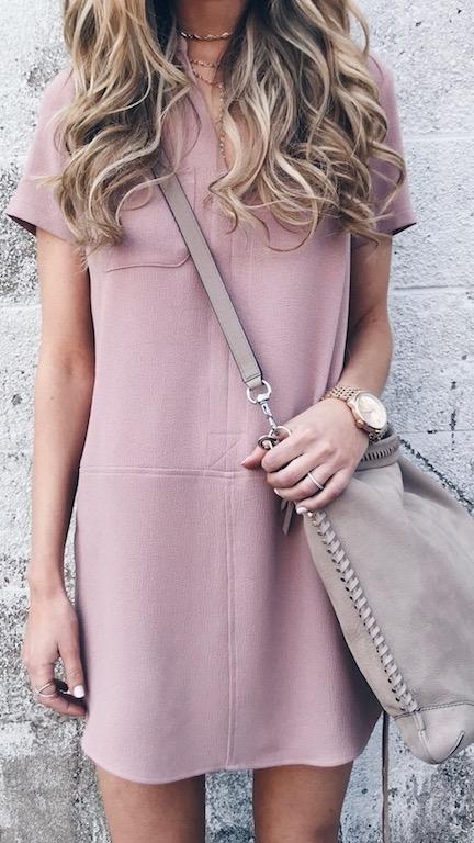 casual spring dress on pinteresting plans fashion blog