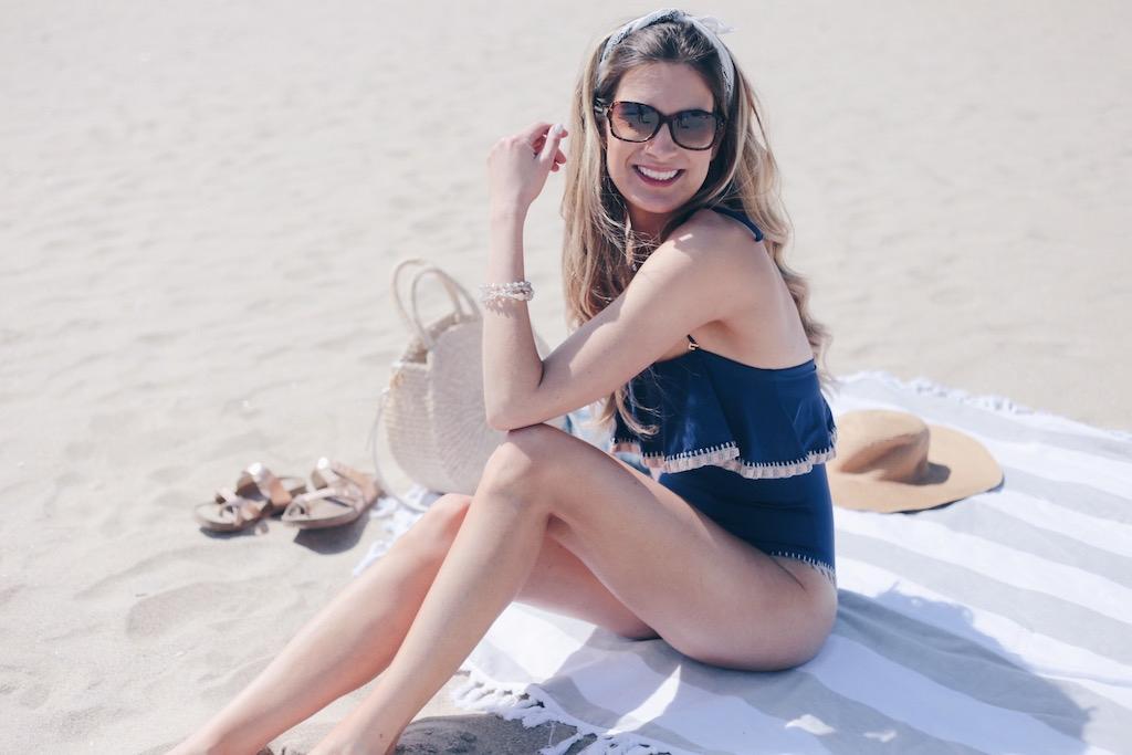 One Piece Flutter Top Bathing Suit - PinterestingPlans blogger.JPG