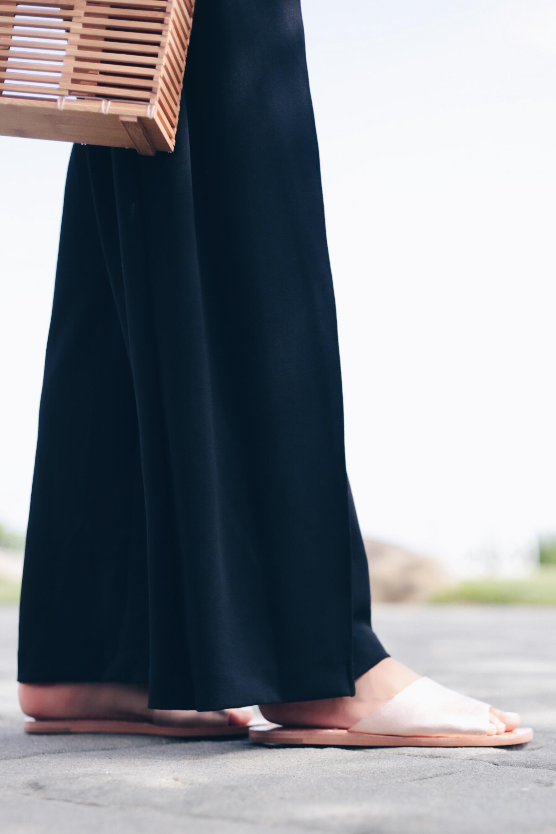 wideleg formal jumpsuit for Summer wedding on Pinteresting Plans fashion blog