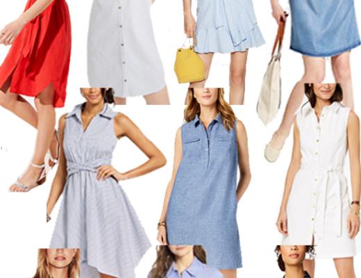 workwear Wednesday - the shirtdress