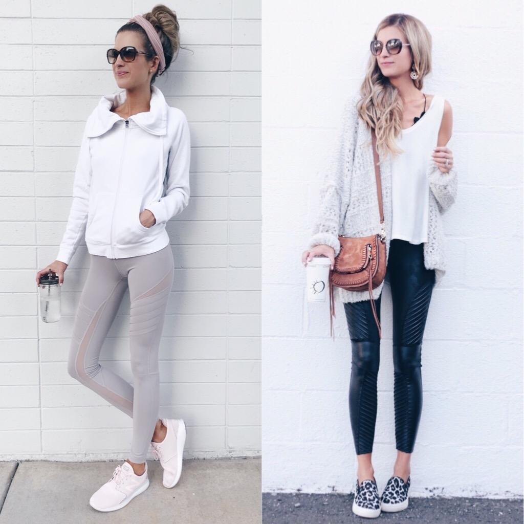 10 Best Sellers of the Nordstrom Anniversary Sale on Pinteresting Plans Connecticut Style Blog- favorite leggings