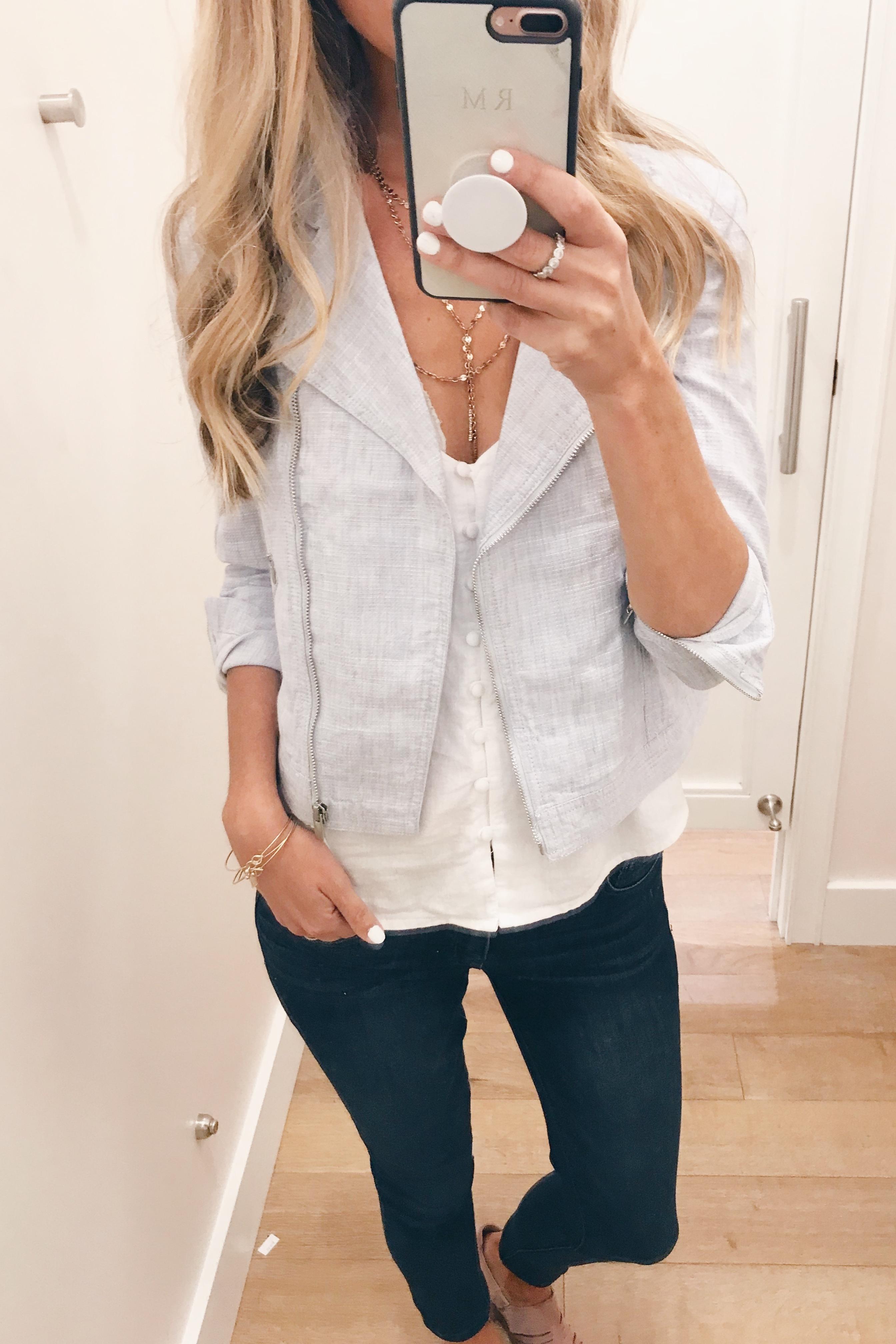 LOFT July 2018 Sale - Linen Cotton Jacket