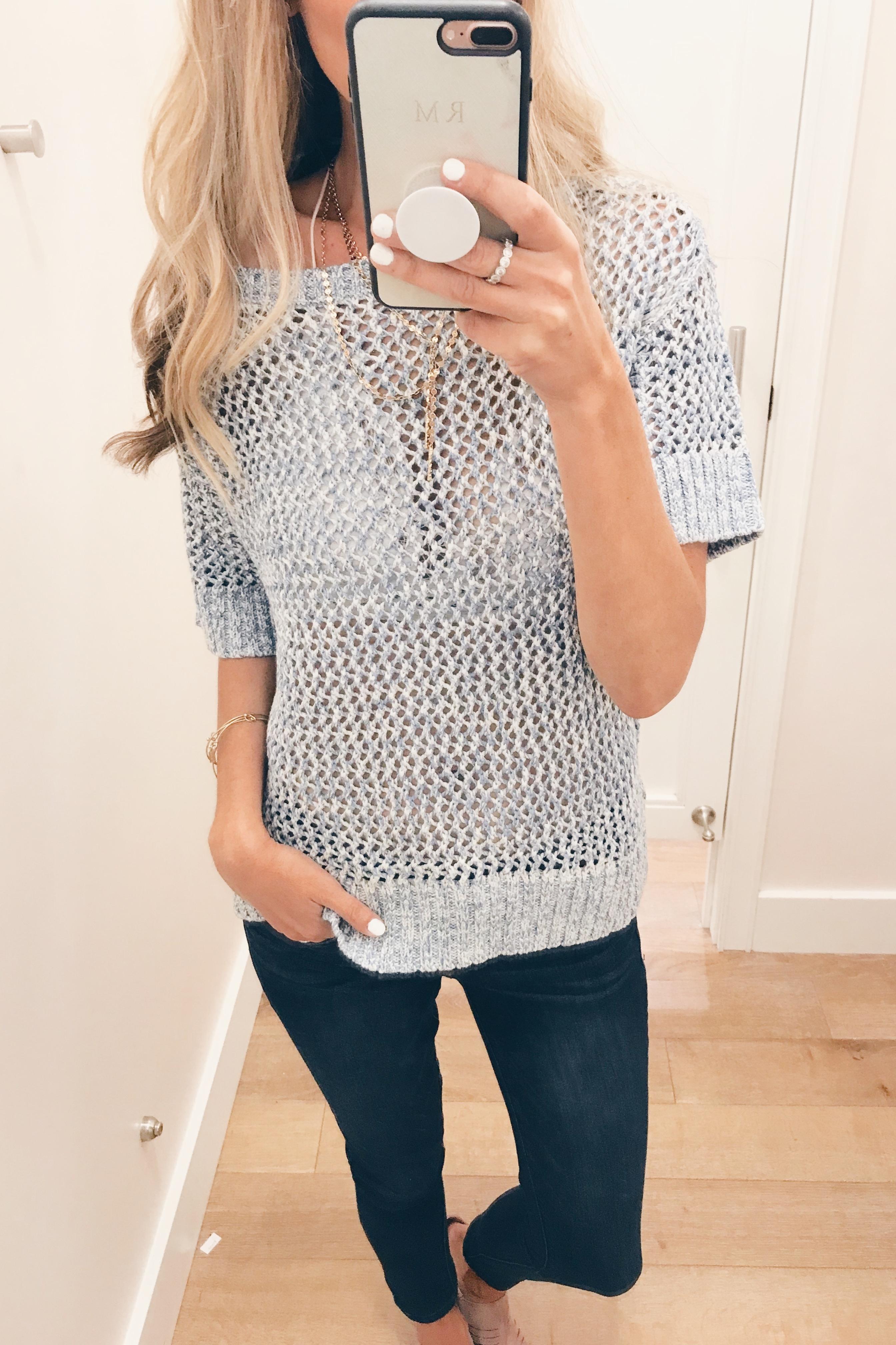 LOFT July 2018 Sale - Short Sleeve Sweater