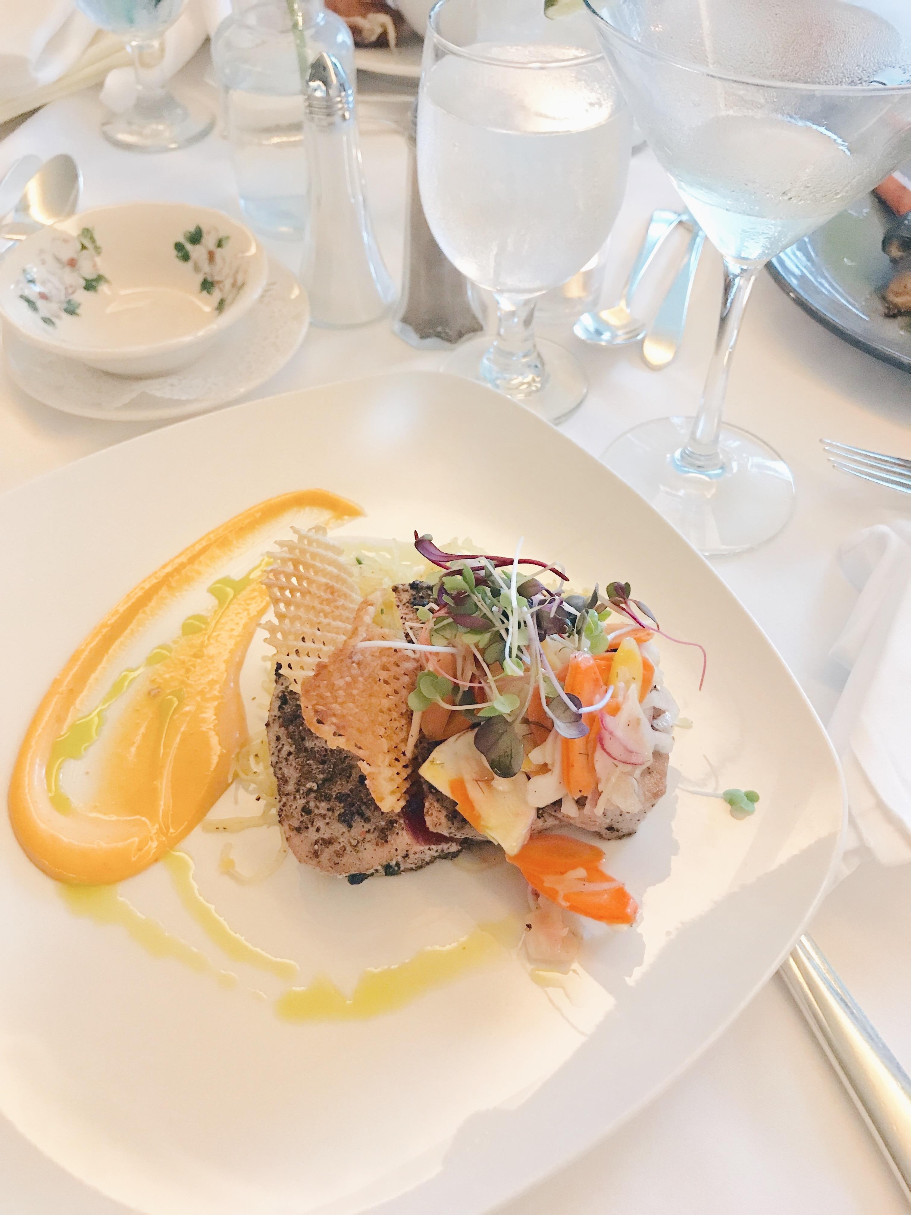 Basin Harbor Resort Review - Delicious Food