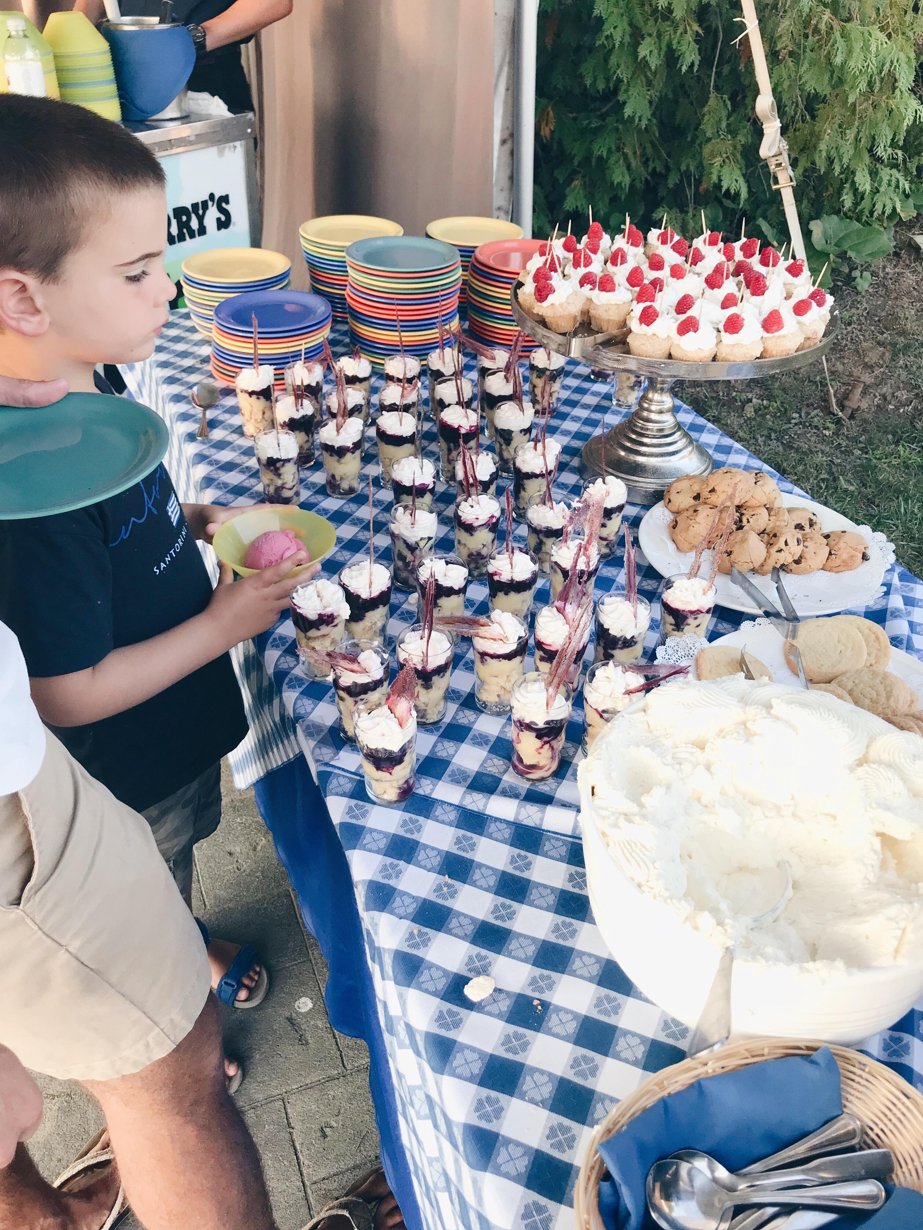 Basin Harbor Resort Review - Dessert Time