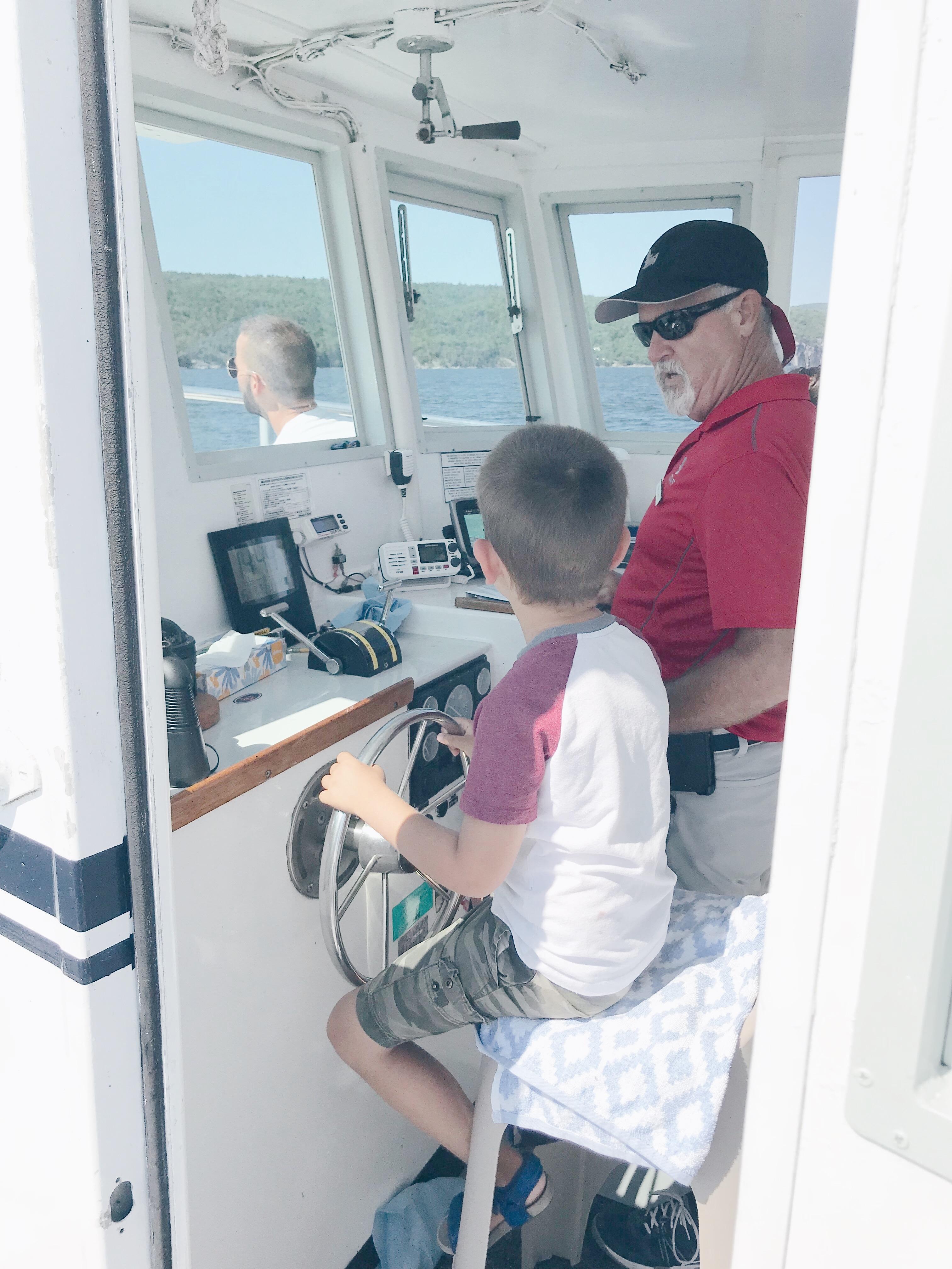 Basin Harbor Resort Review - Driving the Boat
