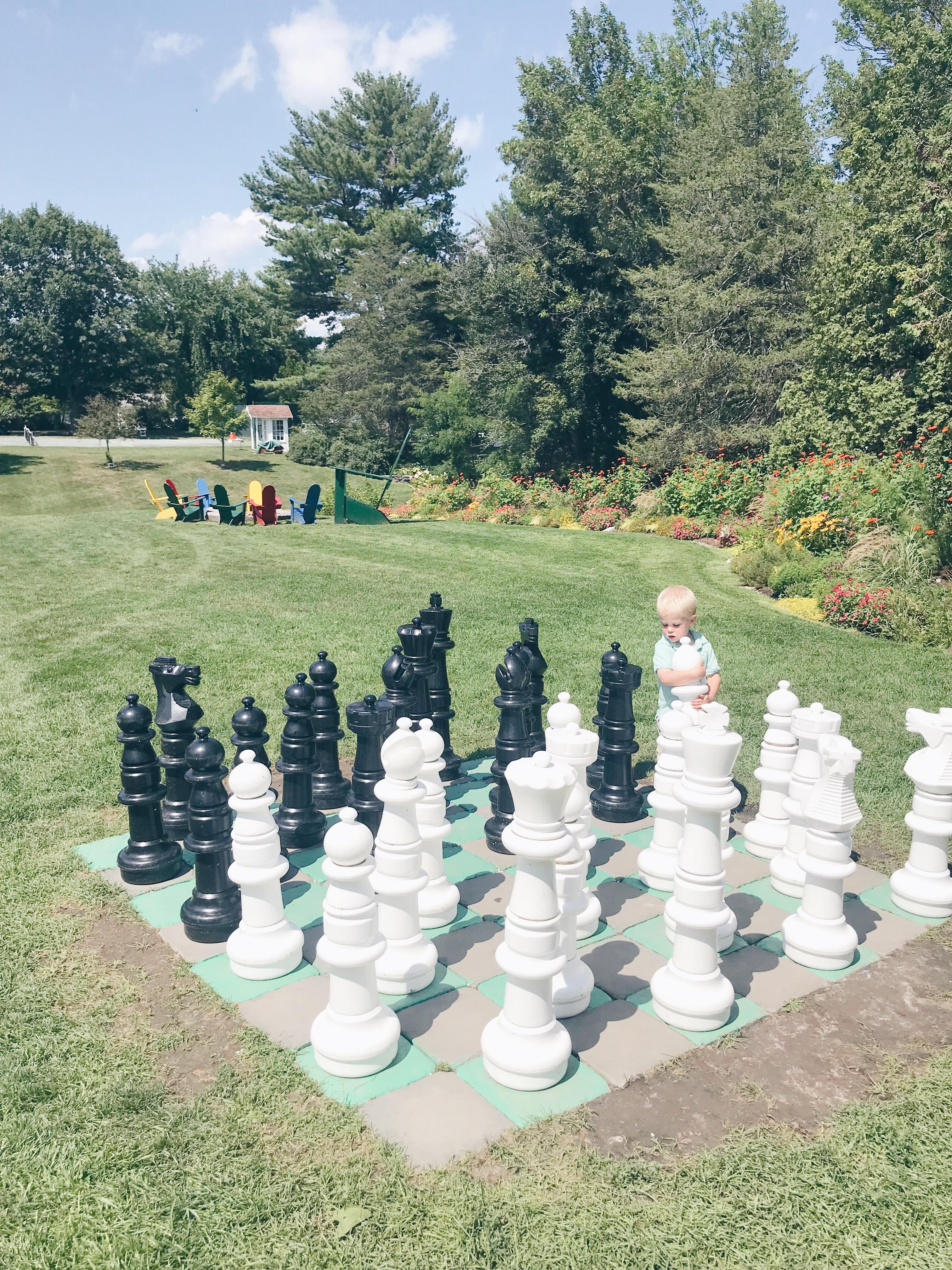 Basin Harbor Resort Review - Oversized Outdoor Chess