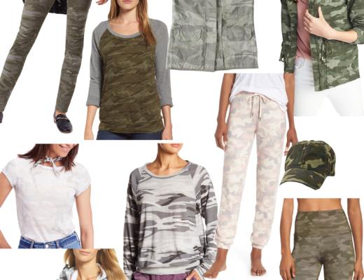 camo wardrobe favorites
