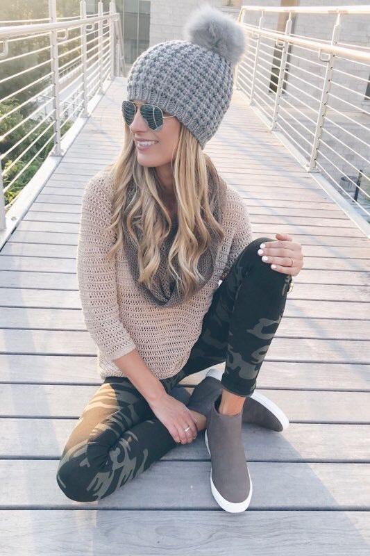 how to style camo skinnies