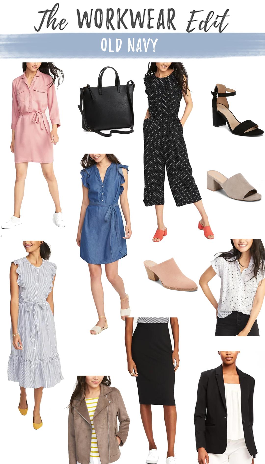 Workwear Wednesday: Old Navy Sale