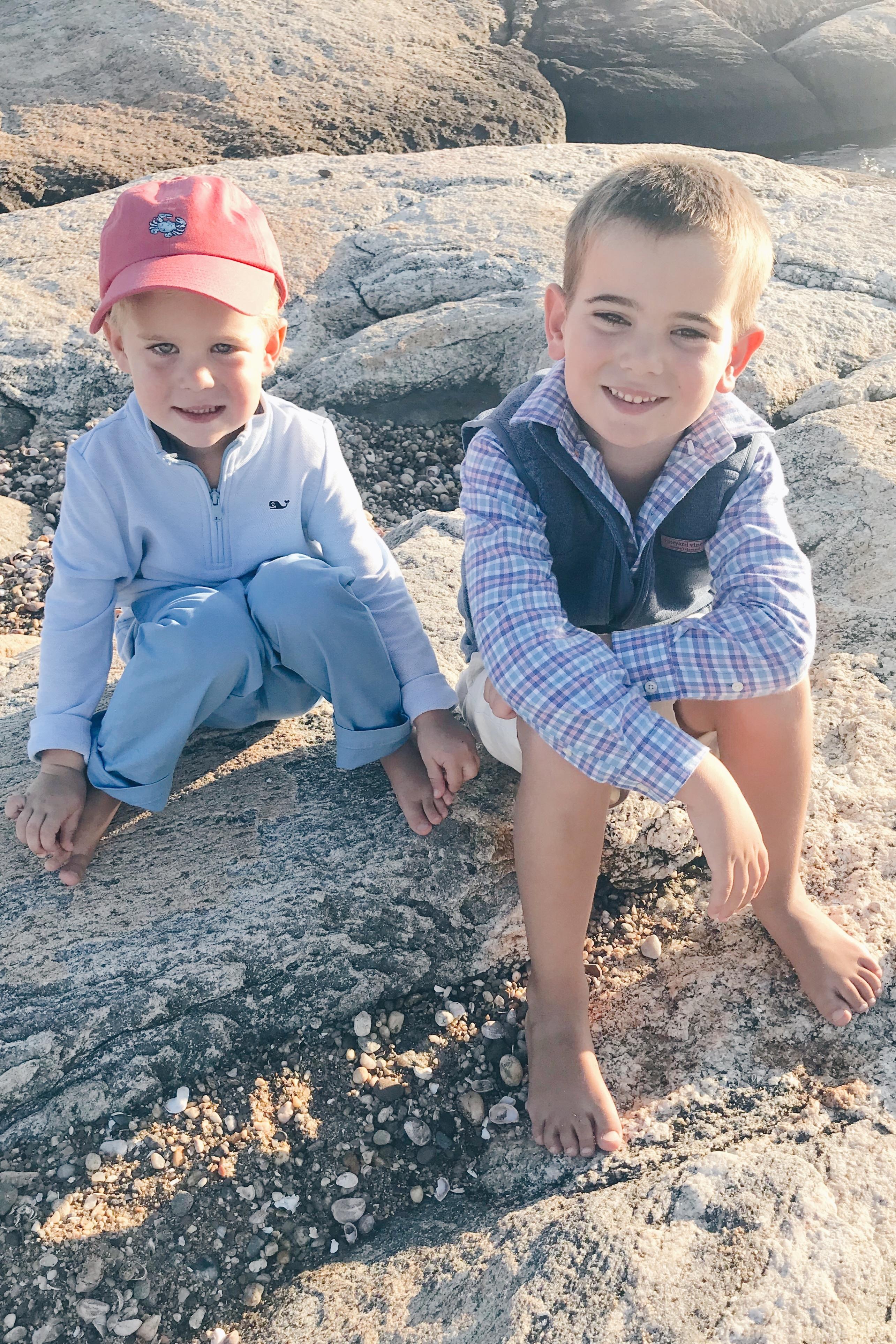 Vineyard Vines Boy Outfits - Connecticut Lifestyle Bloggger Pinteresting Plans sons
