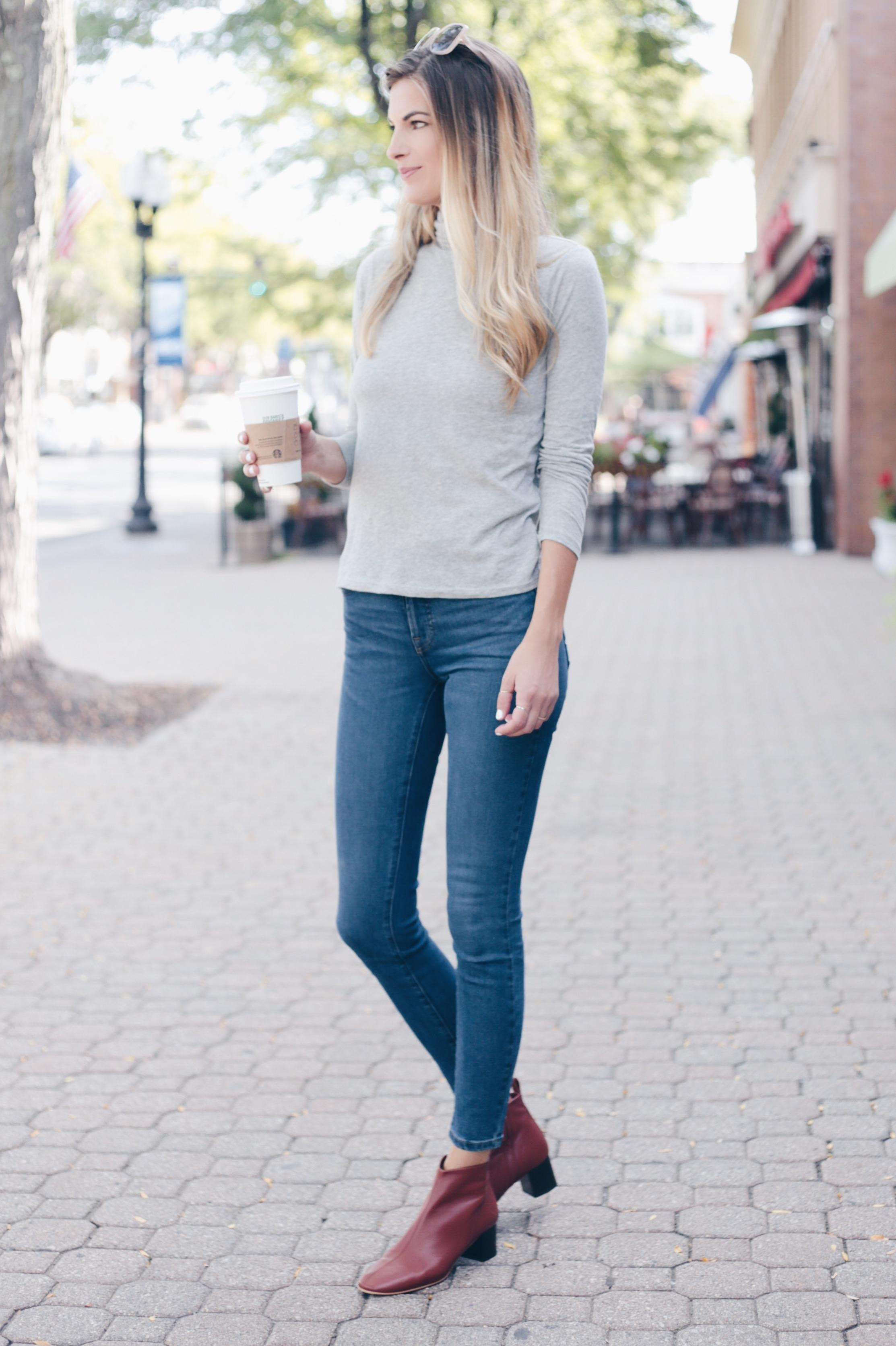 Comfortable Jeans | Modern Basics for Fall