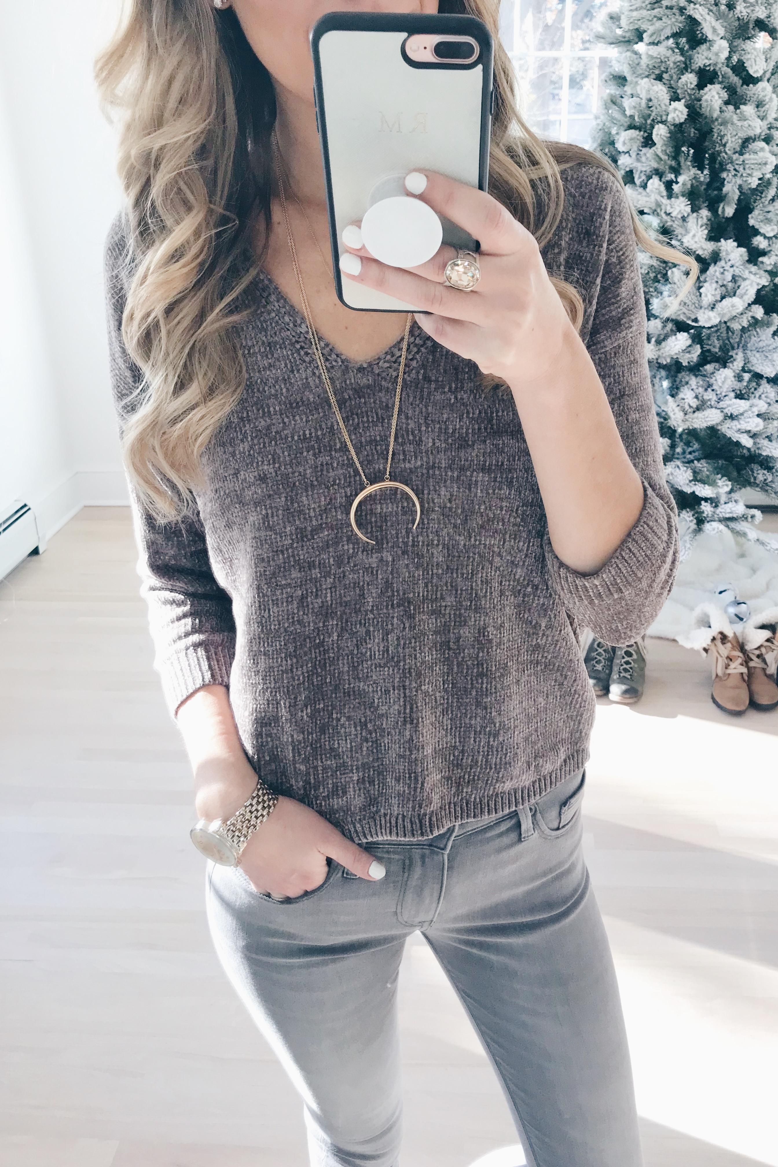 veteran's day weekend sale round up 2018 v-neck women's chenille sweater